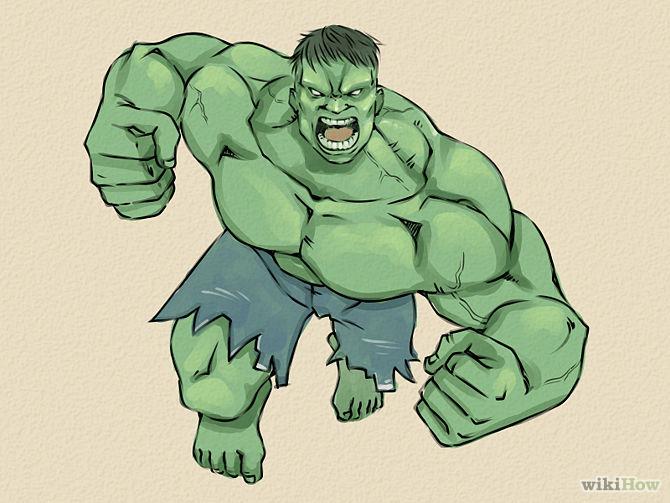 Drawn hulk #3