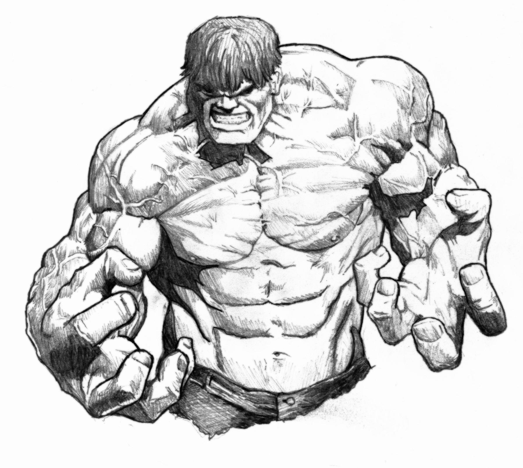 Drawn amd hulk Hulk Incredible hulk  DAP