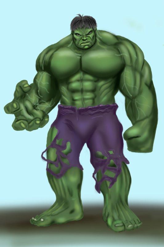 Drawn pice hulk Draw Draw (The Tutorials The