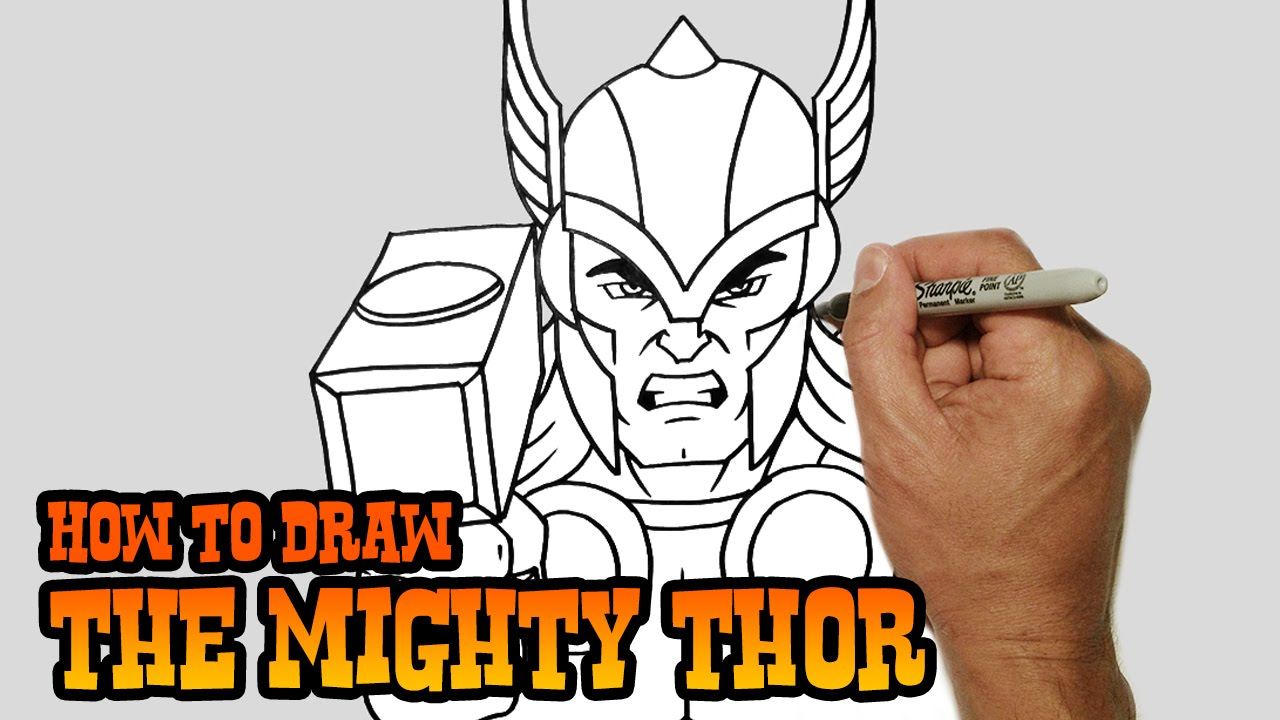 Drawn thor Drawing Wolverine Lesson Lesson Simple Thor Thor