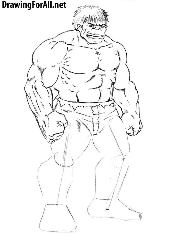 Drawn pice hulk Draw draw Hulk hulk the