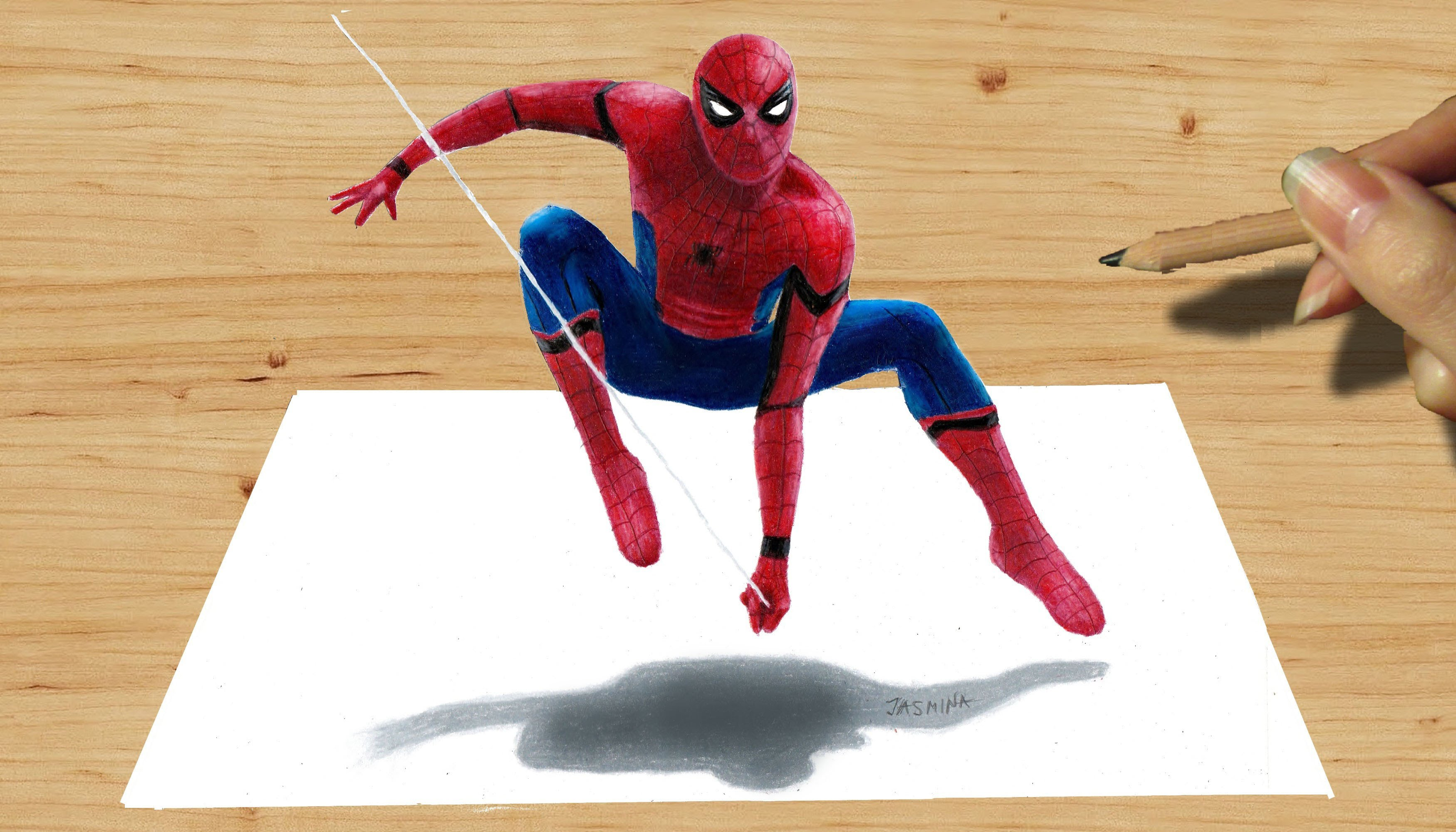 Drawn spider-man pencil drawing  America Unsubscribe Pencil NEW