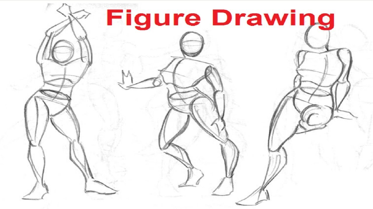 Drawn figurine draw Human Drawing Drawing 1/8