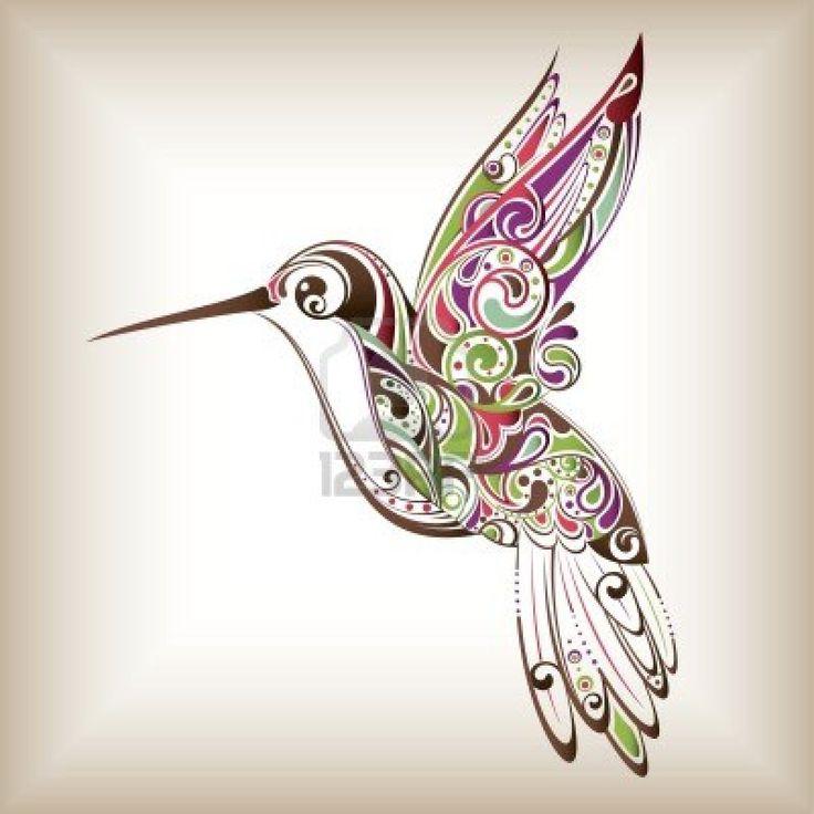 Drawn hummingbird amazing bird Image detail Cliparts Hummingbird for