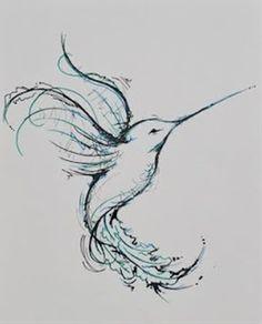 Drawn hummingbird japanese Hummingbird Download Black And Hummingbird