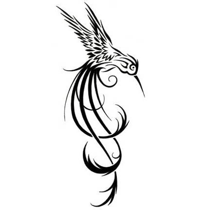 Drawn hummingbird phoenix Ink ink Google Search Search
