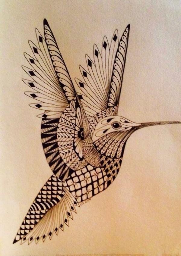 Drawn hummingbird phoenix Bird Astonishing Pinterest Tattoo 90