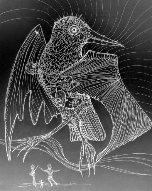 Drawn hummingbird zombie  Tobor The The Mechanical