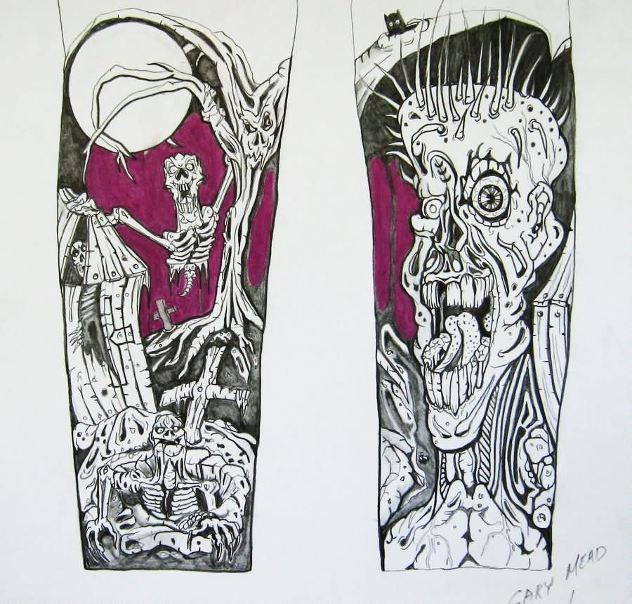 Drawn hummingbird zombie Zombie zombie Drawings tattoo images