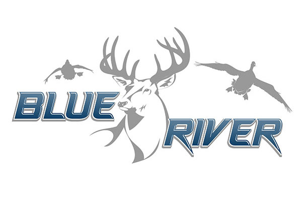 Drawn hunting deer logo Hunting and Bird Logo Design