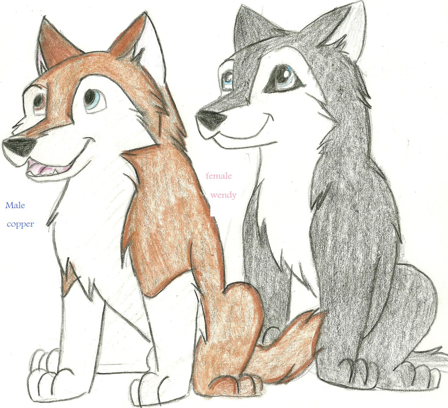 Drawn husky mei Of 2 To To Picture
