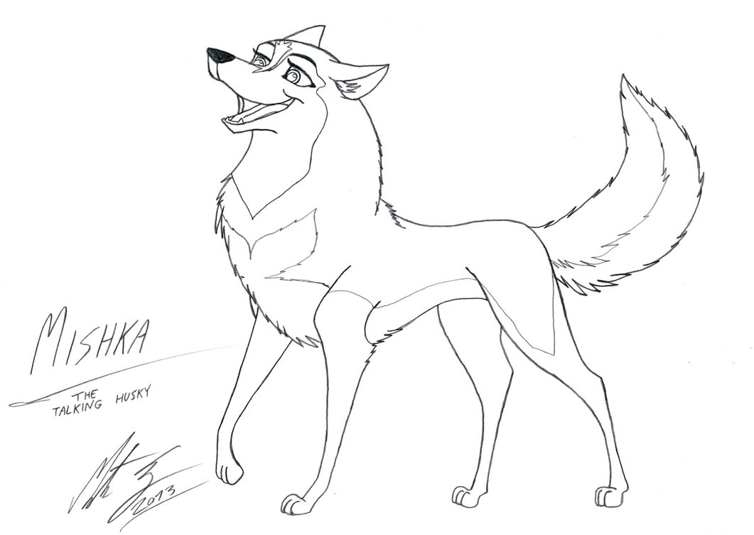 Drawn husky mishka Mishka Husky MortenEng21 the by