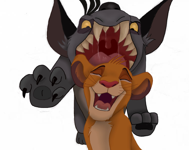 The Lion King clipart laughing hyena Lion DeviantArt Series by Literal