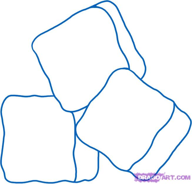 Drawn ice Step 5 ice Online to