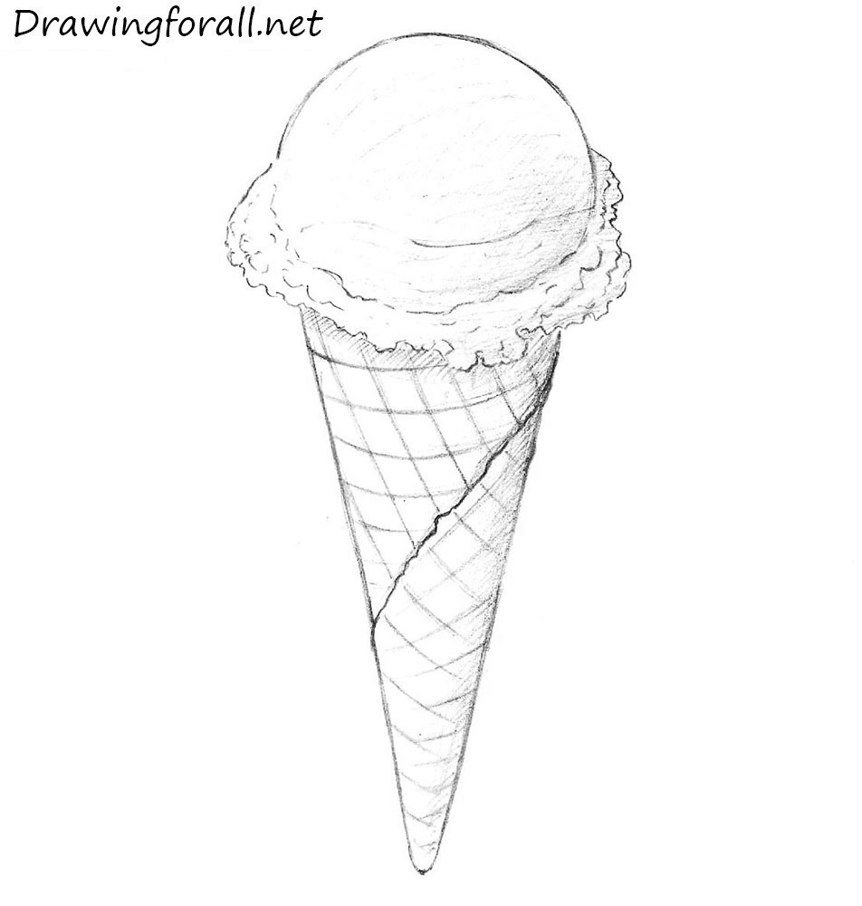 Drawn ice cream Drawing How Draw cream to