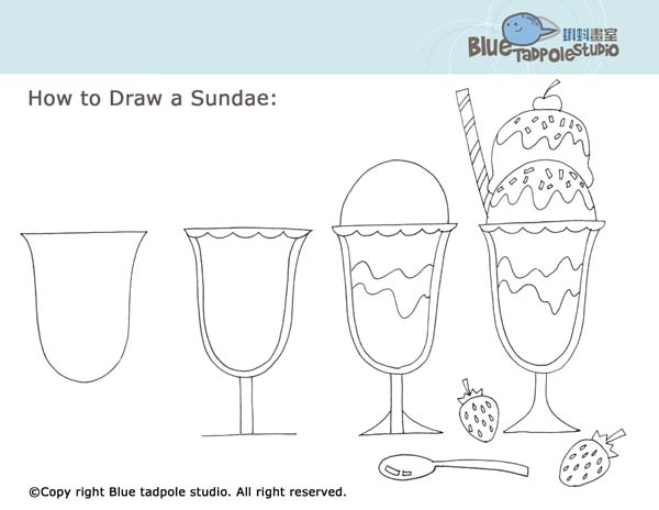Drawn ice cream Find to more draw by