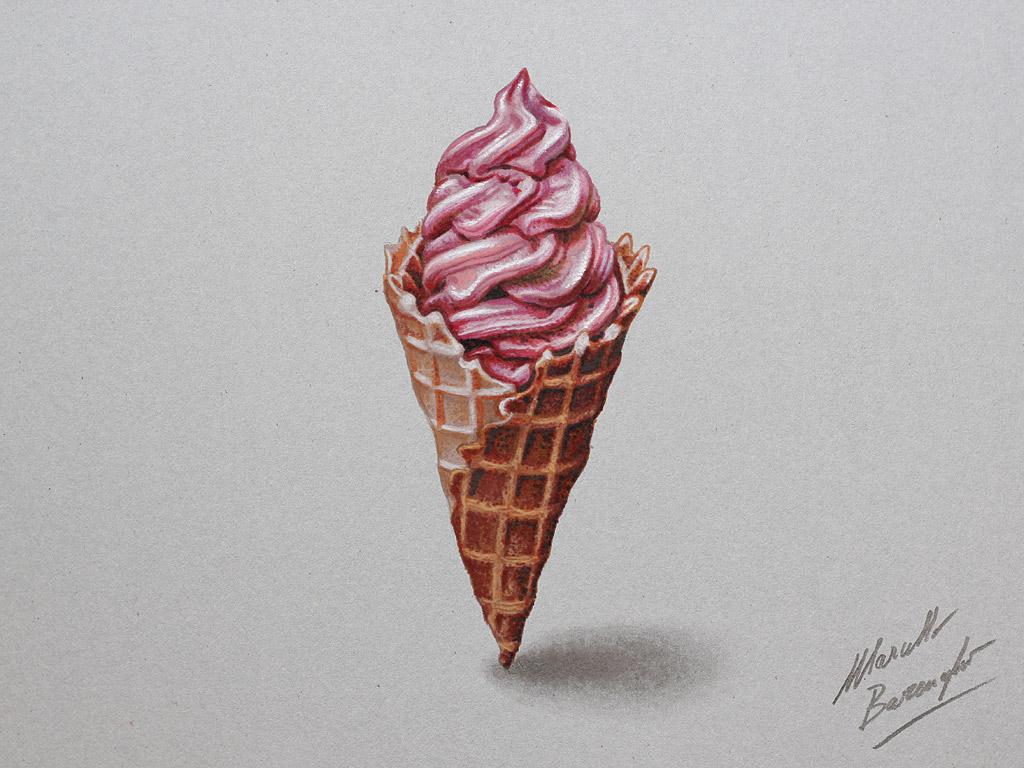 Drawn ice cream pencil drawing I ice be I ice