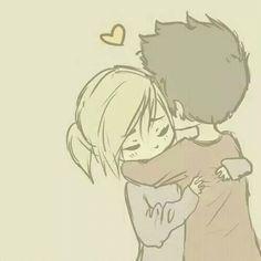 Drawn hug love Pinterest Cute Cute Dr about