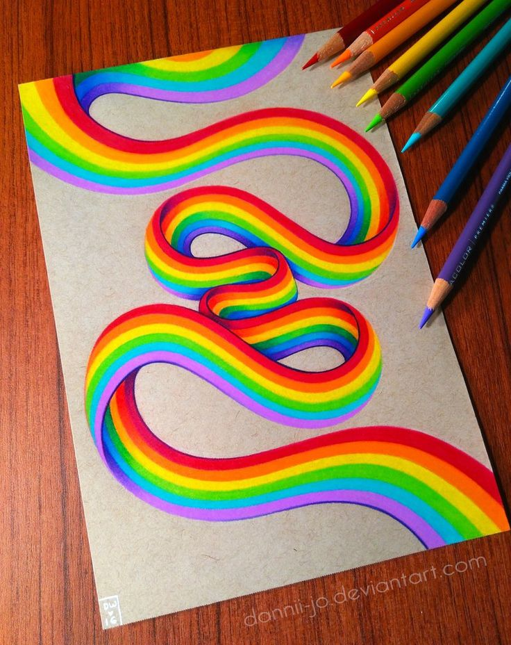 Drawn rainbow draw Drawings by Fun Amazing on