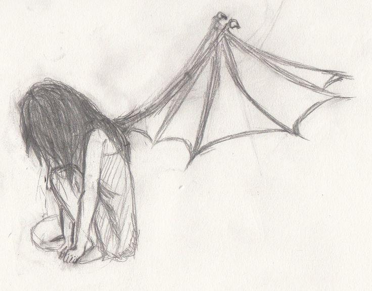 Drawn idea lonely #15