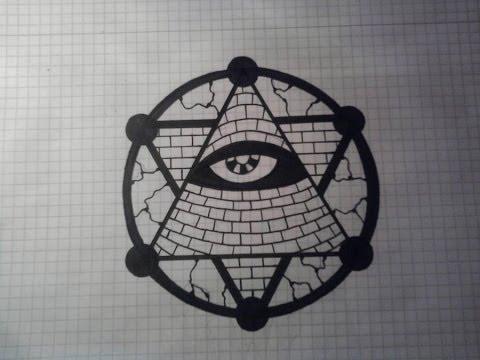 Drawn illuminati hand Draw To YouTube Illuminati To