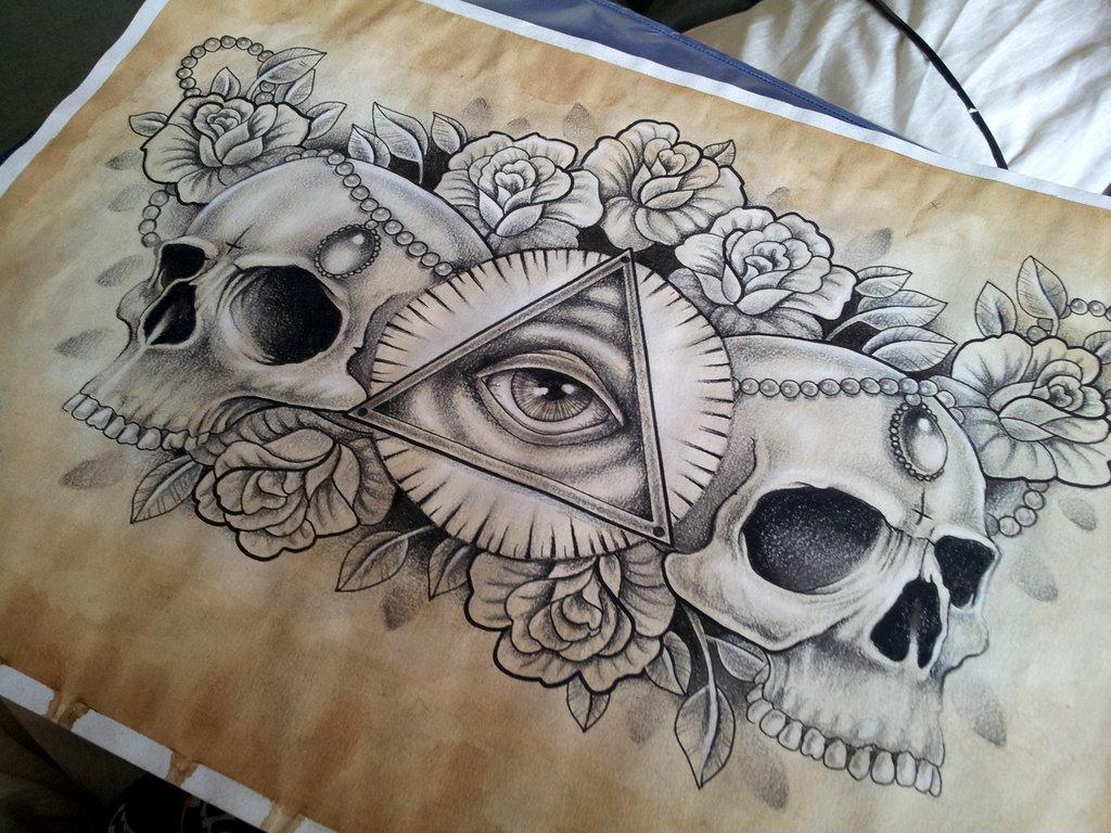 Drawn illuminati #5