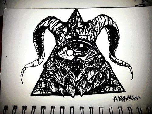 Drawn illuminati #9