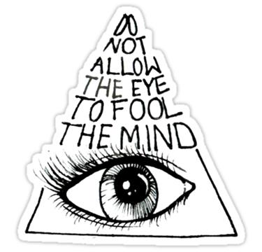 Drawn illuminati anti Occult Illuminati Sticker Illuminati and