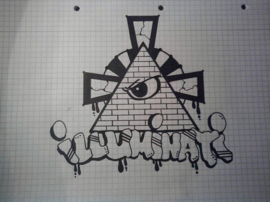 Drawn illuminati graffiti Illuminati/All DeviantArt by eye dbrascont