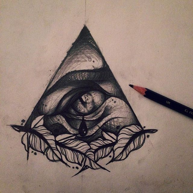 Drawn pyramid eye drawing All #artcollective Illuminati hand Illuminati