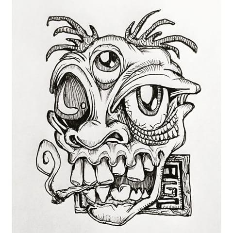 Drawn illuminati graffiti Malkop Poggenpoel photos #drawing #illustration