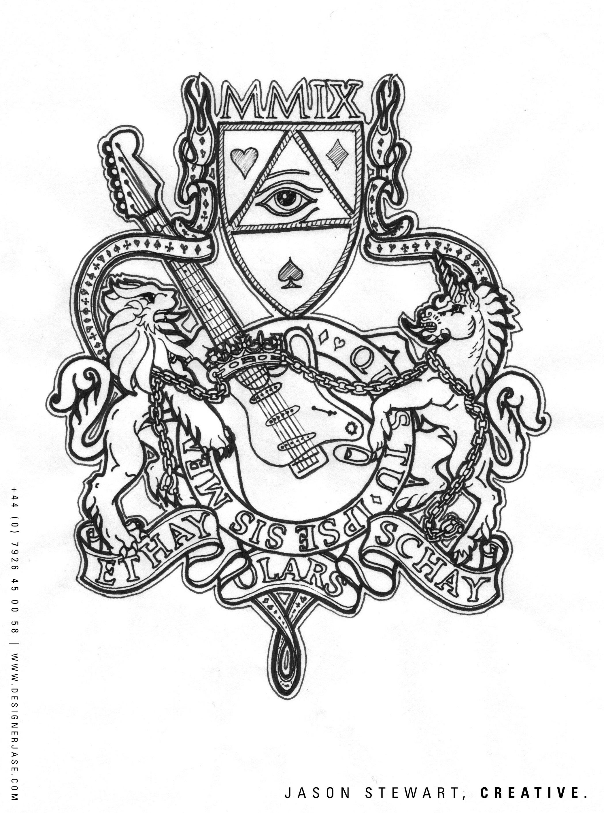 Drawn illuminati hand Drawn Jason Scholars Stewart work