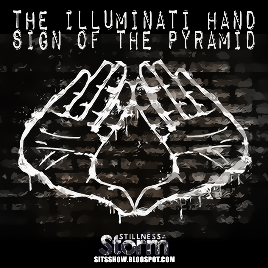 Drawn illuminati hand Pyramid Cabal Needs Why Illuminati