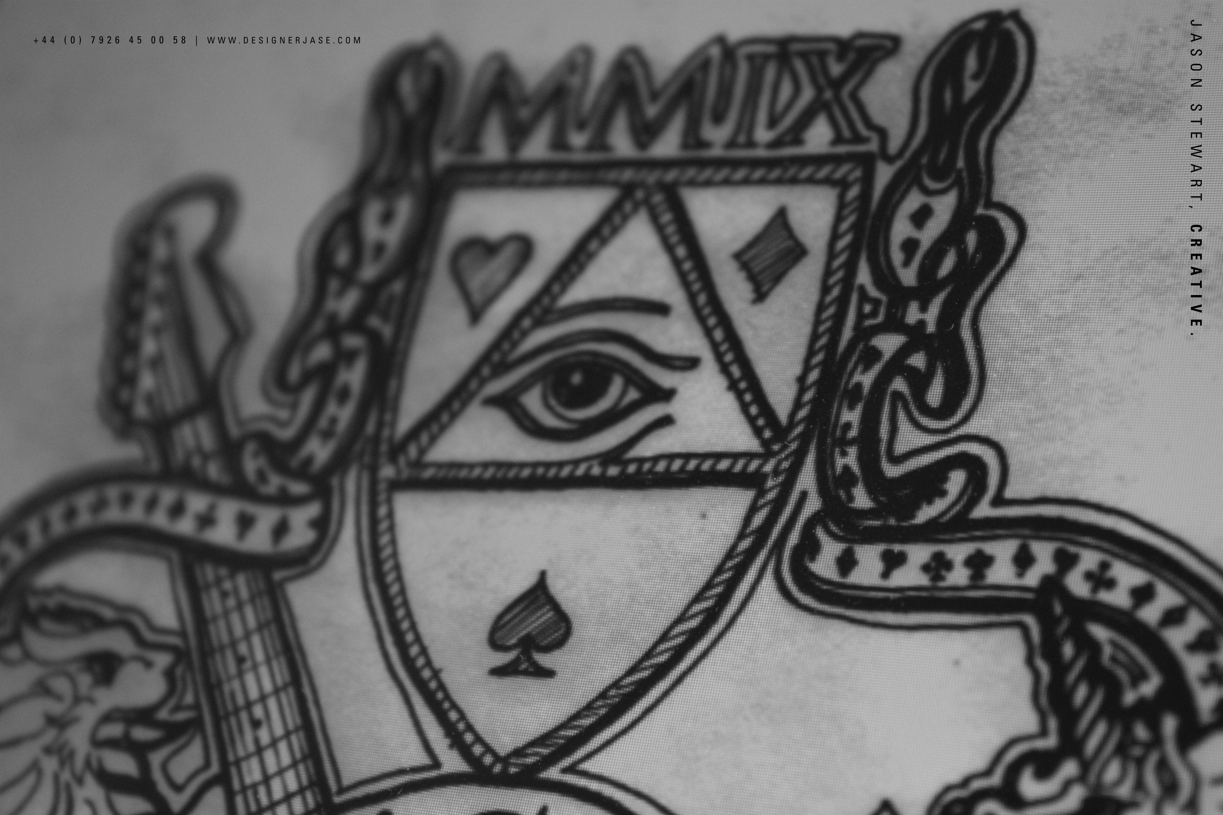 Drawn illuminati hand Work Eye Jason of Creative