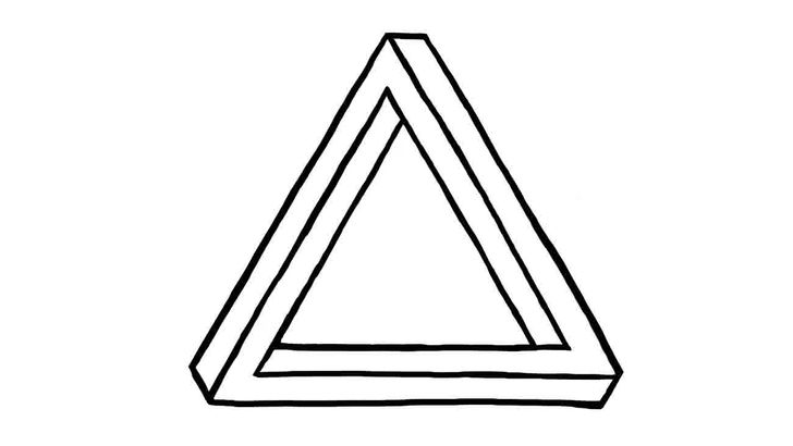 Drawn illusion impossible cube 14 Ways Draw Triangle Impossible