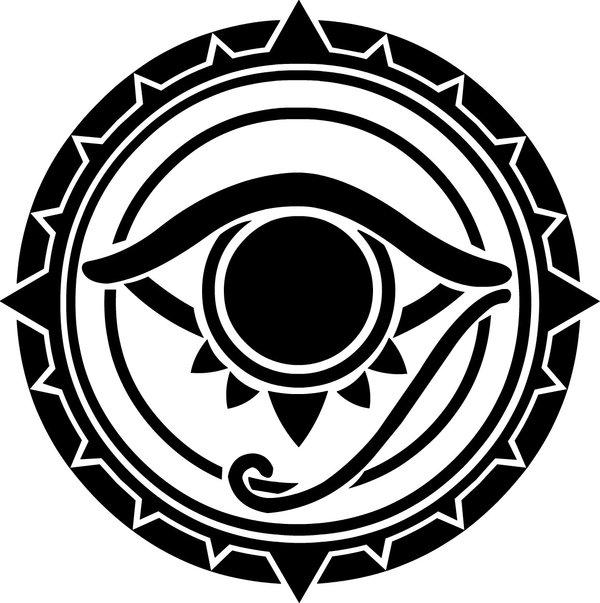 Drawn sykol demonic The The the SymbolEgyptian World