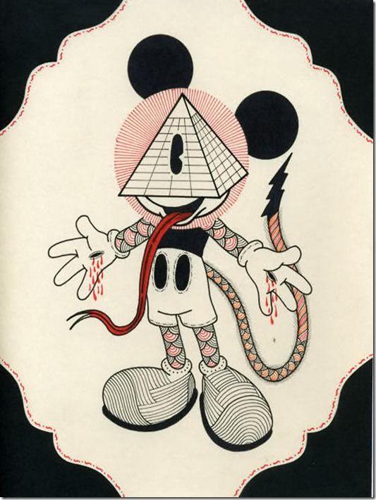 Drawn illuminati target Third Illuminati law this