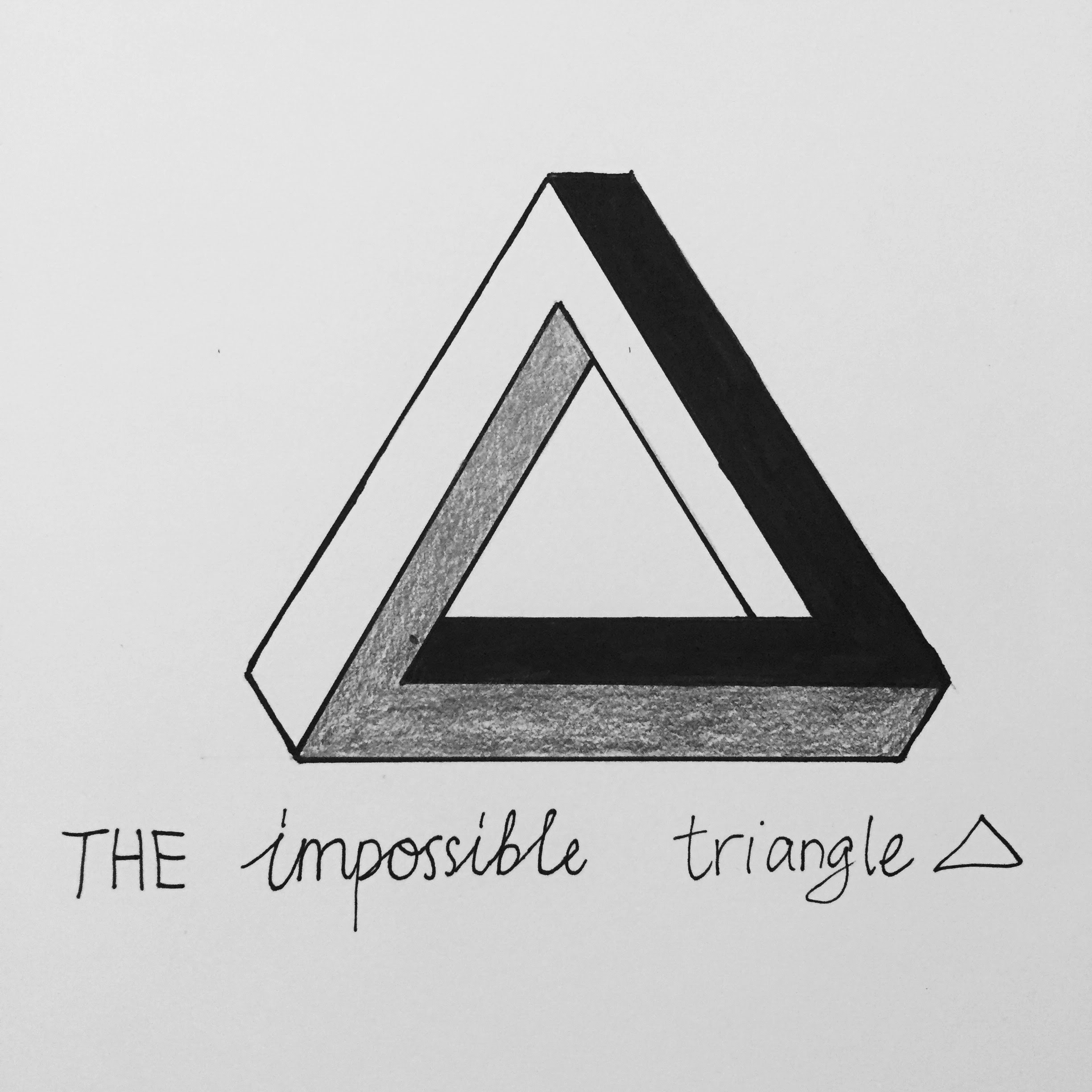 Drawn illuminati triangle Impossible Impossible YouTube How The