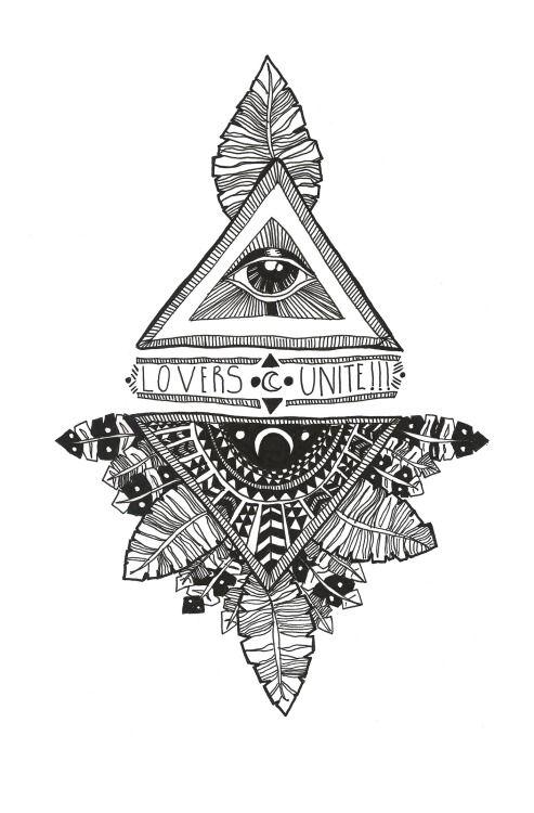 Drawn illuminati tumblr wallpaper Google best Search moon about