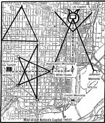 Drawn illuminati washington monument Government's DC in  Illuminati