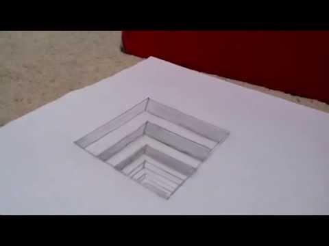 Drawn optical illusion Drawing Illusion Optical Optical Illusion