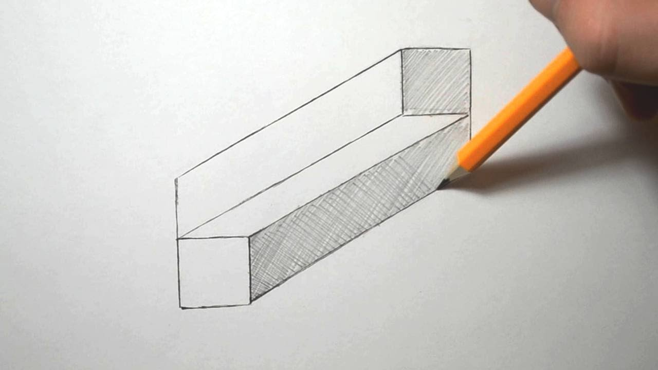 Drawn paper easy  to How Draw Illusion