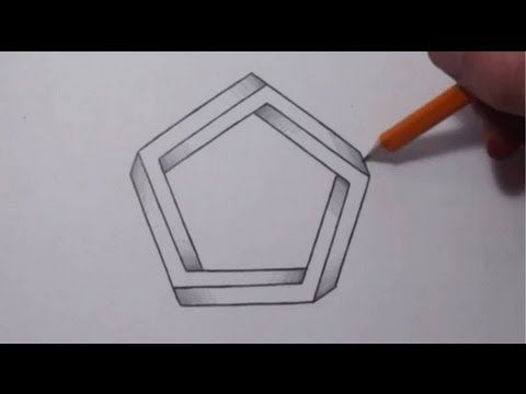 Drawn optical illusion allusion Best Illusion How Cool illusions