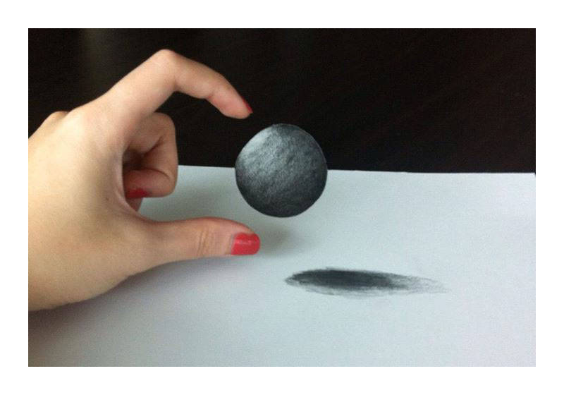 Drawn illusion ball #7