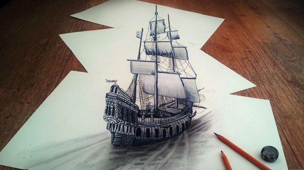 Drawn illusion popular #5