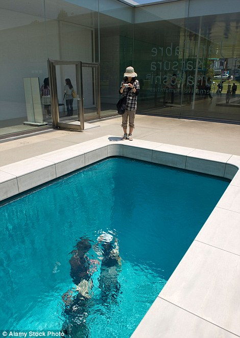 Drawn illusion swimming pool Exhibition According Erlich's to website