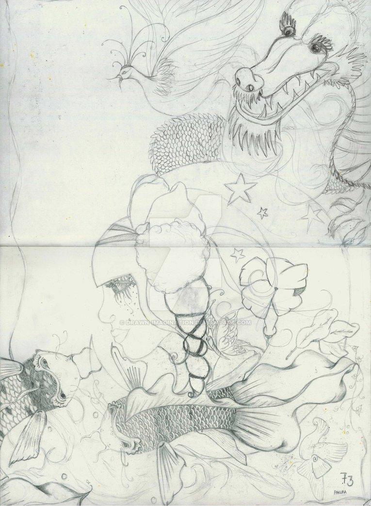 Drawn imagination The by purple Legend Legend