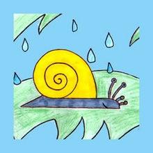 Drawn bugs kid LAND kids How drawing SNAIL