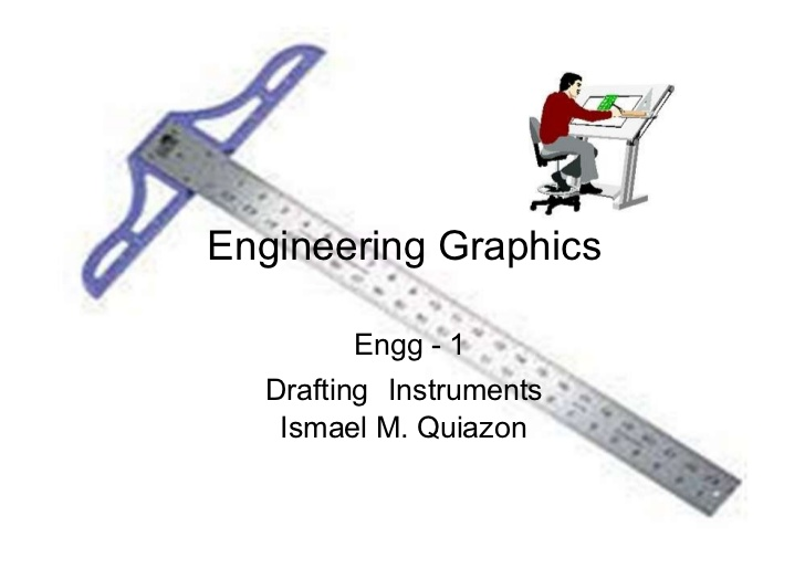 Drawn instrument graphic Ismael instruments) Engineering Graphics 2