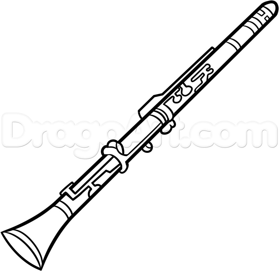 Drawn instrument oboe To Instruments Step clarinet Wind